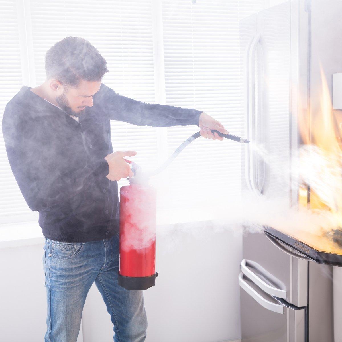 שריפות בבית